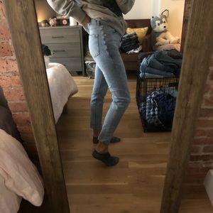 Skinny fit denim pants